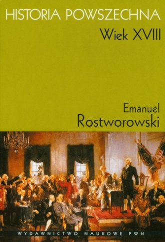 Historia powszechna. Wiek XVIII - okładka książki