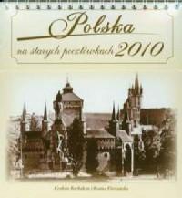 Kalendarz 2010 Polska na starych pocztówkach - okładka książki