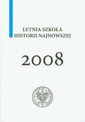 Letnia szkoła historii najnowszej - okładka książki
