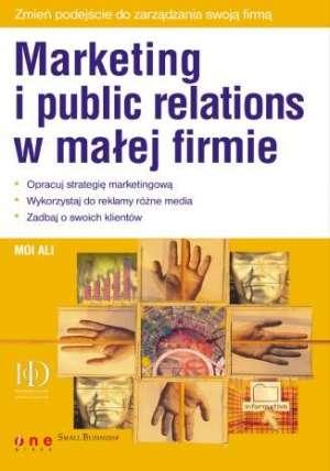 Marketing i public relations w - okładka książki
