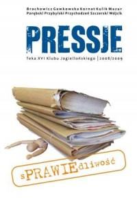 Pressje (16). Teka XVI. Sprawiedliwość - okładka książki