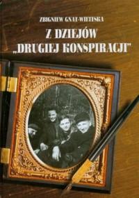 Z dziejów drugiej konspiracji - okładka książki
