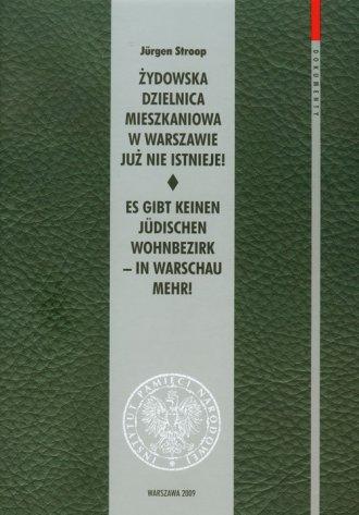 Żydowska dzielnica mieszkaniowa - okładka książki