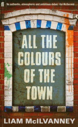 All the Colours of the Town - okładka książki