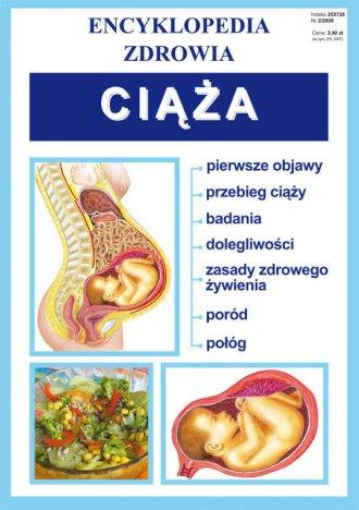 Ciąża. Encyklopedia zdrowia - okładka książki