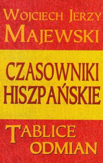 Czasowniki hiszpańskie. Tablice - okładka podręcznika