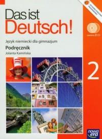 Das ist Deutsch! 2. Język niemiecki do gimnazjum. Podręcznik (+ CD) - okładka podręcznika