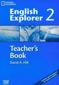 English Explorer 2. Teacher s Book (+ CD) - okładka podręcznika
