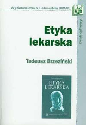 Etyka lekarska - okładka książki