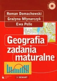 Geografia. Zadania maturalne (+ CD) - okładka podręcznika