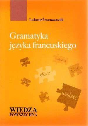 Gramatyka języka francuskiego - okładka podręcznika