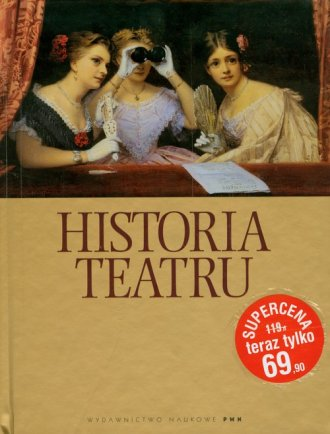 Historia teatru - okładka książki