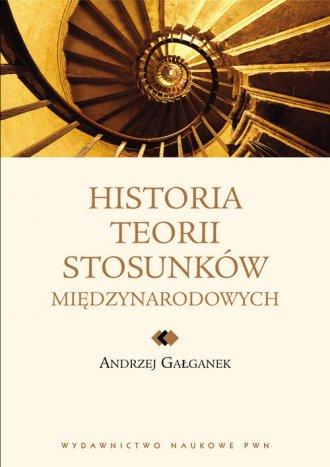 Historia teorii stosunków międzynarodowych. - okładka książki