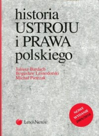 Historia ustroju i prawa polskiego - okładka książki