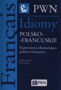 Idiomy polsko-francuskie - Barbara Kochan - okładka podręcznika