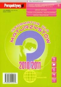 Informator dla maturzystów 20102011 - okładka książki