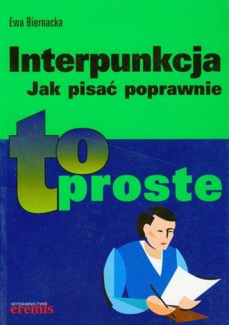 Interpunkcja Jak pisać poprawnie - okładka książki