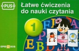 Łatwe ćwiczenia do nauki czytania - okładka podręcznika