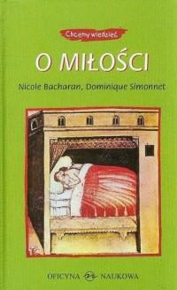 O miłości - Nicole Bacharan - okładka książki