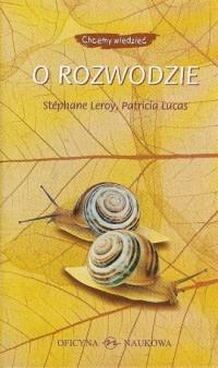 O rozwodzie - Stephane Leroy - okładka książki