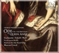 Ode for the Birthday of Queen Anne, Dixit Dominus (CD) - okładka płyty