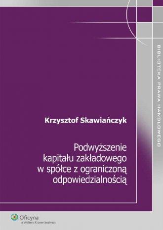 Podwyższenie kapitału zakładowego - okładka książki