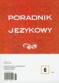Poradnik językowy 62009 - Wydawnictwo Wydawnictwa Uniwersytetu Warszawskiego - okładka książki