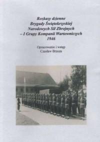 Rozkazy dzienne Brygady Świętokrzyskiej - pudełko programu
