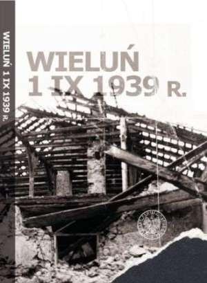 Wieluń 1 IX 1939 - okładka książki