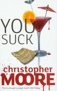 You Suck - okładka książki