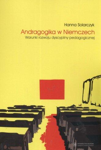 Andragogika w Niemczech - okładka książki