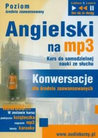 Angielski na mp3. Konwersacje dla średniozaawansowanych (CD mp3) - okładka podręcznika