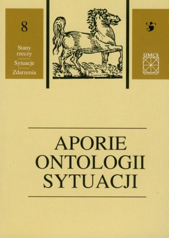 Aporie ontologii sytuacji. Tom - okładka książki