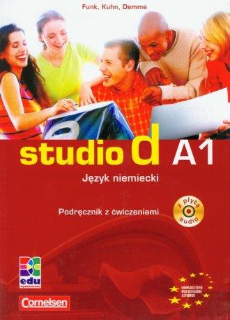 Język niemiecki A1. Podręcznik - okładka podręcznika