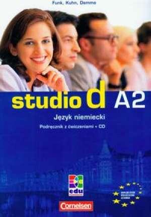 Język niemiecki. Studio d A2. Podręcznik - okładka podręcznika