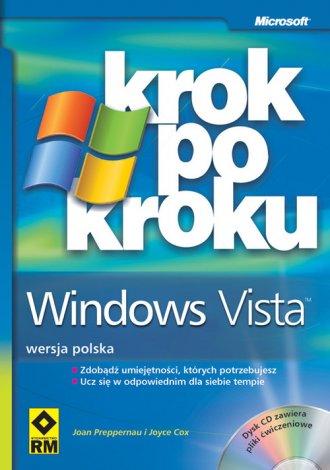 Krok po kroku Windows Vista (+ - okładka książki