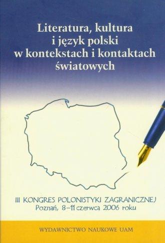 Literatura, kultura i język polski - okładka książki