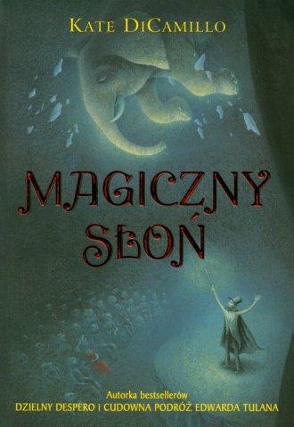 Magiczny słoń - okładka książki