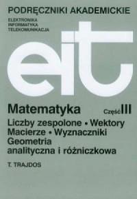Matematyka cz. 3 - okładka książki