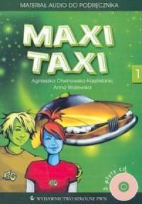 Maxi Taxi 1. Materiał audio do podręcznika (3 CD) - okładka podręcznika