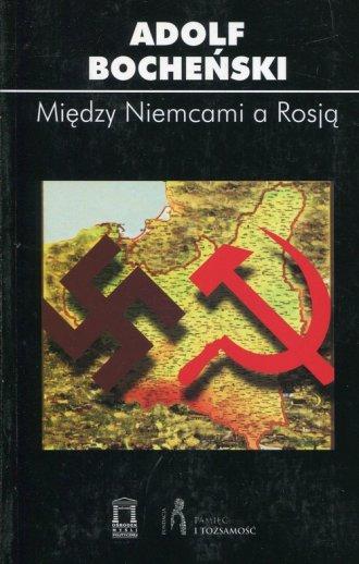 Między Niemcami a Rosją - okładka książki