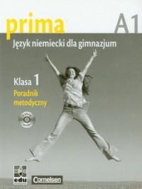 Prima 1. Język niemiecki. Poradnik metodyczny (+ CD) - okładka książki