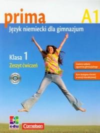 Prima 1. Język niemiecki. Zeszyt ćwiczeń (+ CD) - okładka podręcznika