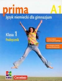 Prima A1. Język niemiecki. Podręcznik - okładka podręcznika