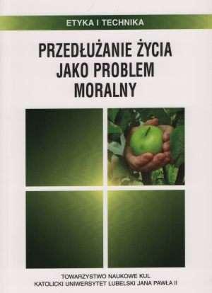 Przedłużanie życia jako problem - okładka książki