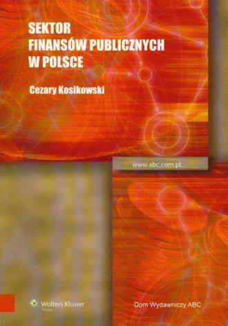 Sektor finansów publicznych w Polsce - okładka książki