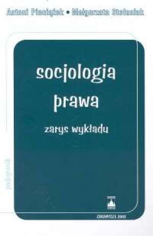 Socjologia prawa - okładka książki