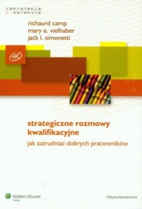 Strategiczne rozmowy kwalifikacyjne - okładka książki