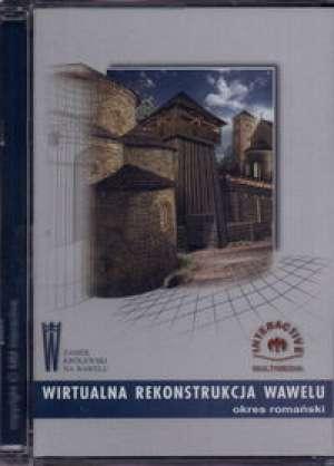 Wirtualna rekonstrukcja Wawelu - okładka książki