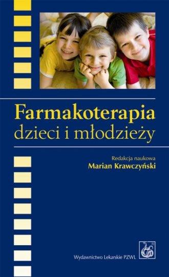Farmakoterapia dzieci i młodzieży - okładka książki